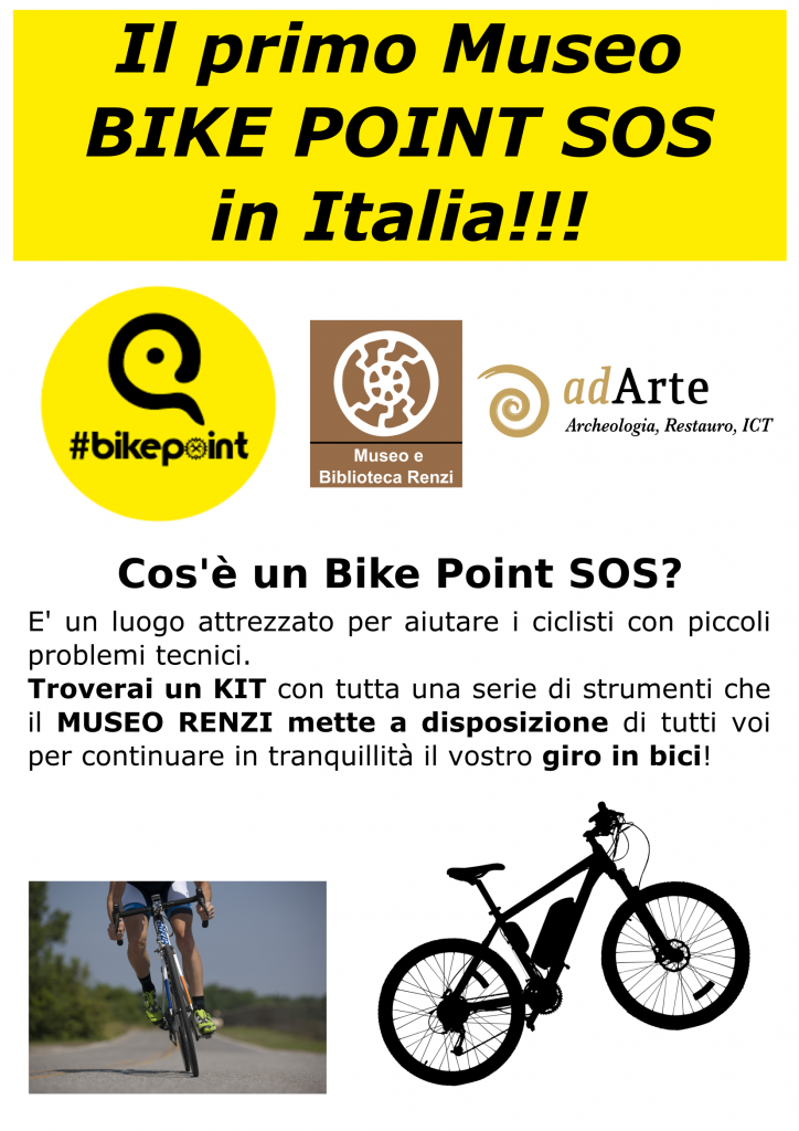 Museo Renzi_Locandina_bike point sos